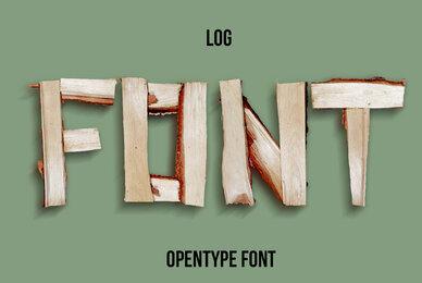Log SVG Font