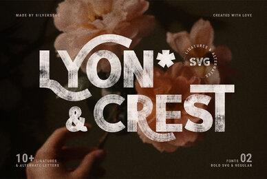 Lyon Crest Svg