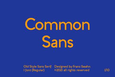 Common Sans