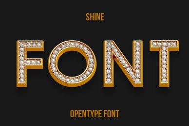 Shine SVG Font