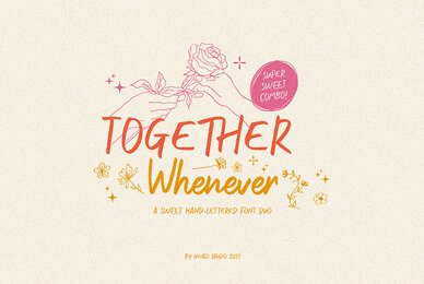 Together Whenever Font Duo
