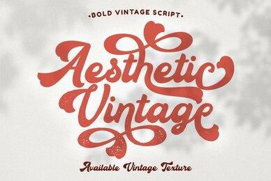 Aesthetic Vintage