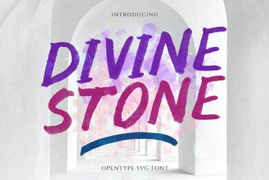 Divine Stone SVG Font