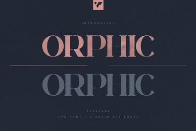 Orphic SVG