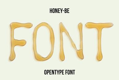 Honey Be SVG Font