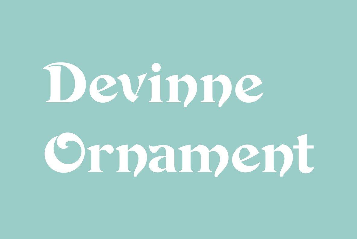 Devinne Ornament