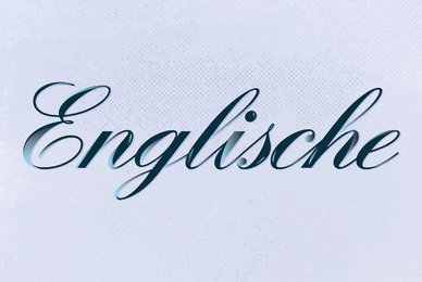 Englische Schreibschrift