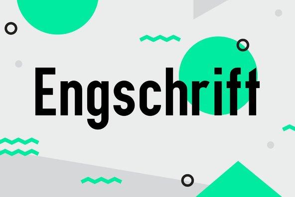 Engschrift