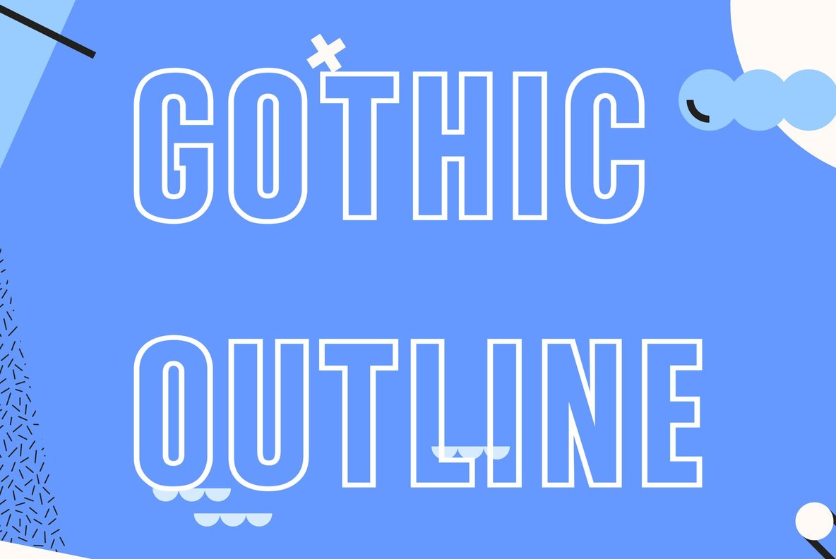 Gothic Outline