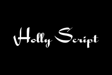 Holly Script