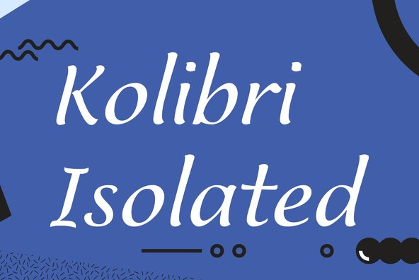 Kolibri Isolated