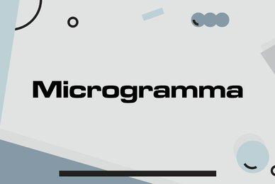 Microgramma