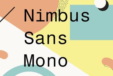 Nimbus Sans Mono