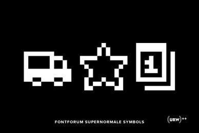 FontForum Supernormale Symbols