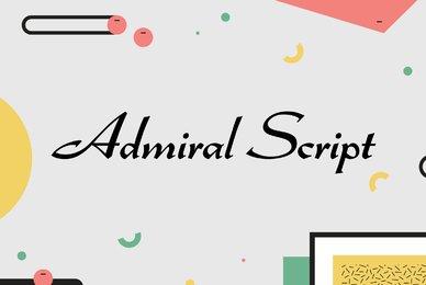 Admiral Script