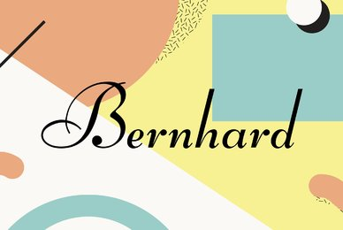 Bernhard Script
