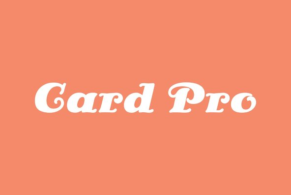 Card Pro
