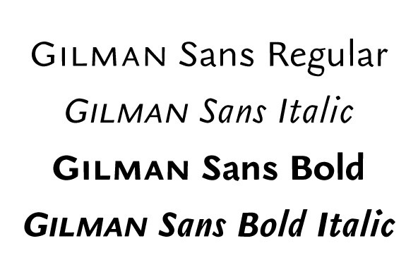Gilman Sans