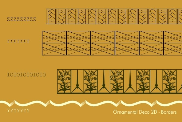 Ornamental Deco 2D