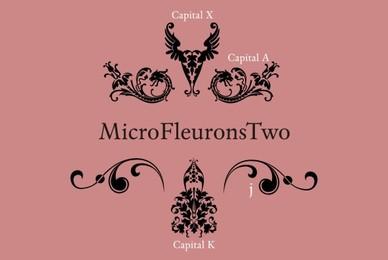 Micro Fleurons Two
