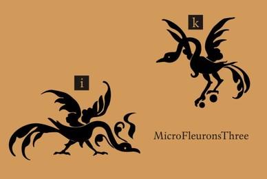 Micro Fleurons Three