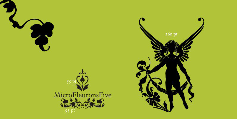 Micro Fleurons Five