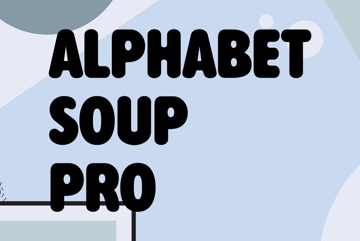Alphabet Soup Pro
