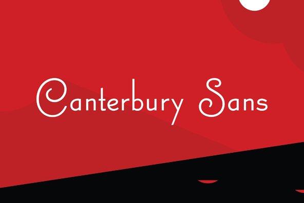 Canterbury Sans