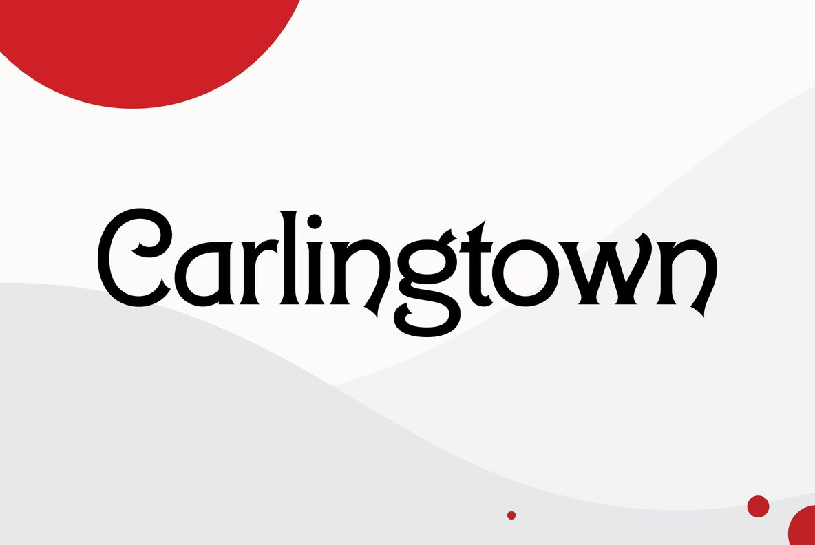 Download Carlingtown - Desktop Font & WebFont - YouWorkForThem