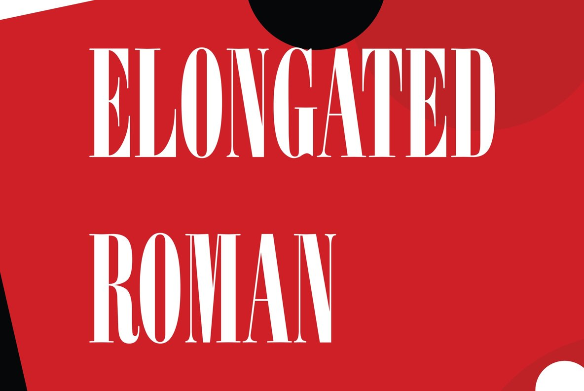Elongated Roman
