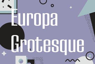 Europa Grotesque