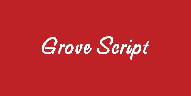 Grove Script