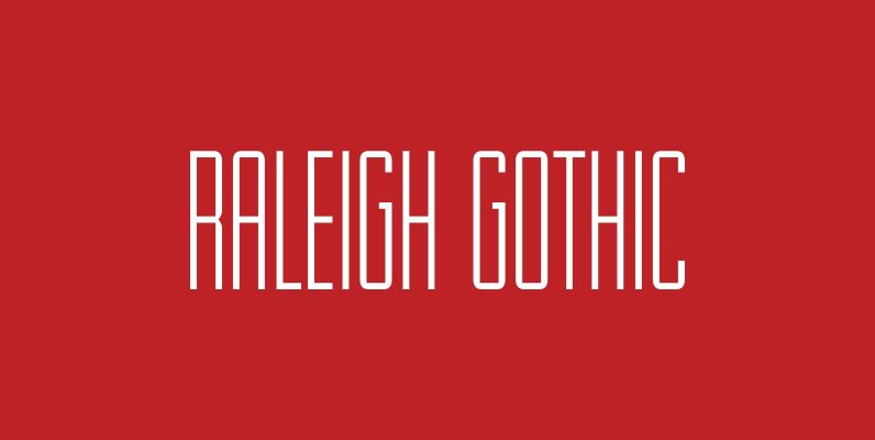 Raleigh Gothic
