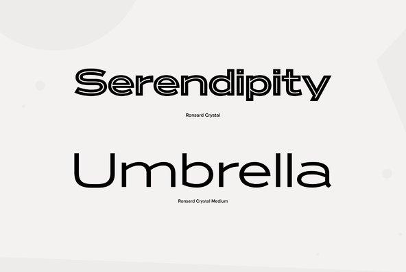 ronsard crystal - desktop font  u0026 webfont