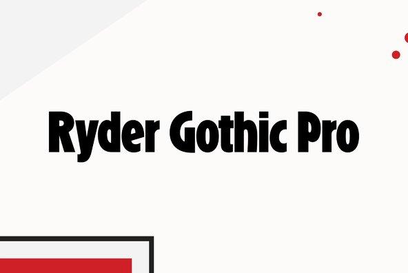 Ryder Gothic Pro