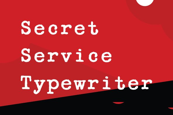 Secret Service Typewriter