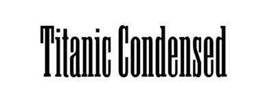 Titanic Condensed