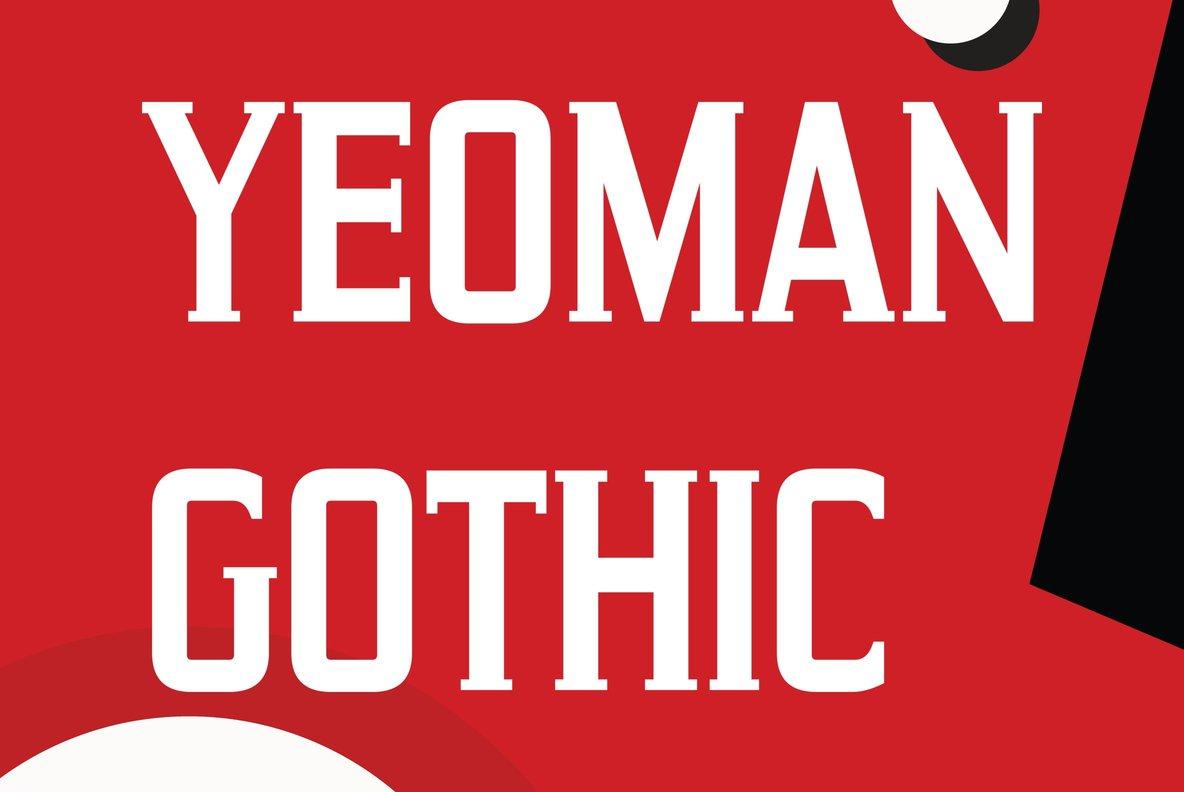 Yeoman Gothic