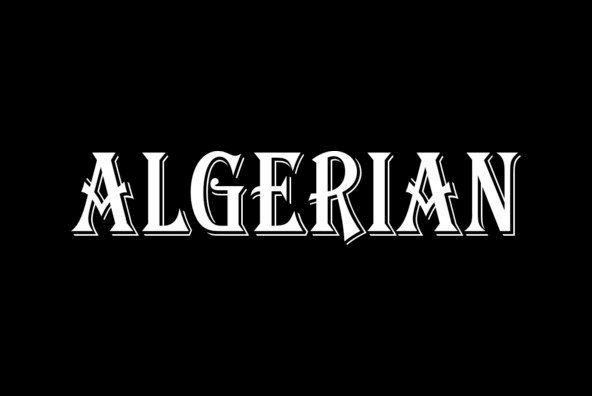 Algerian Condensed