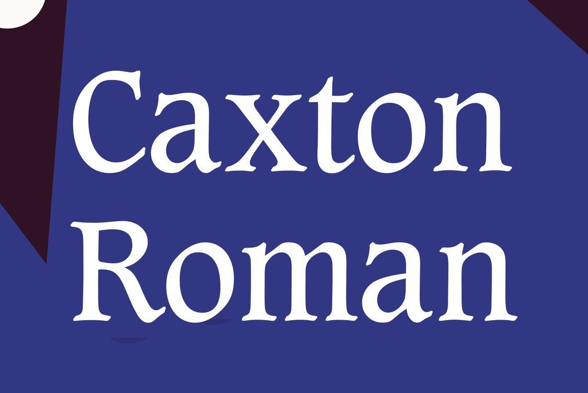 Caxton Roman