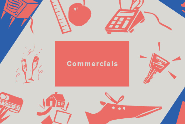Design Font Commercials