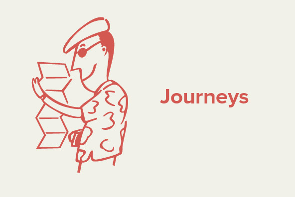 Design Font Journeys
