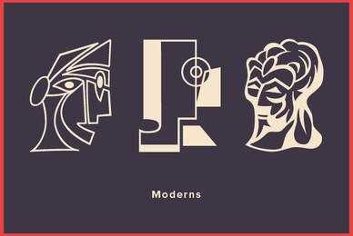 Design Font Moderns