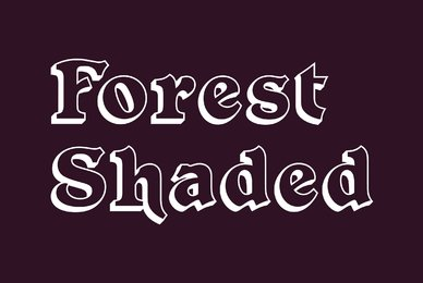 Forest Shaded