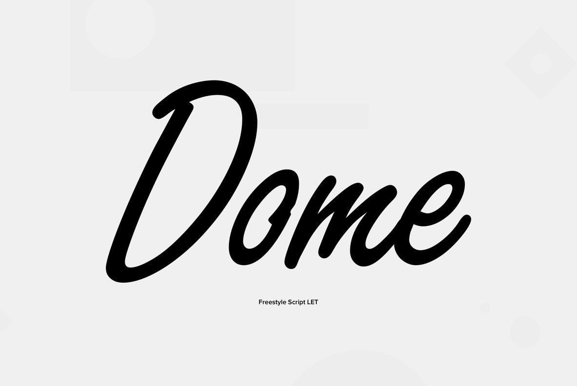 Freestyle Script Font - FontZone.net