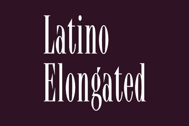Latino Elongated