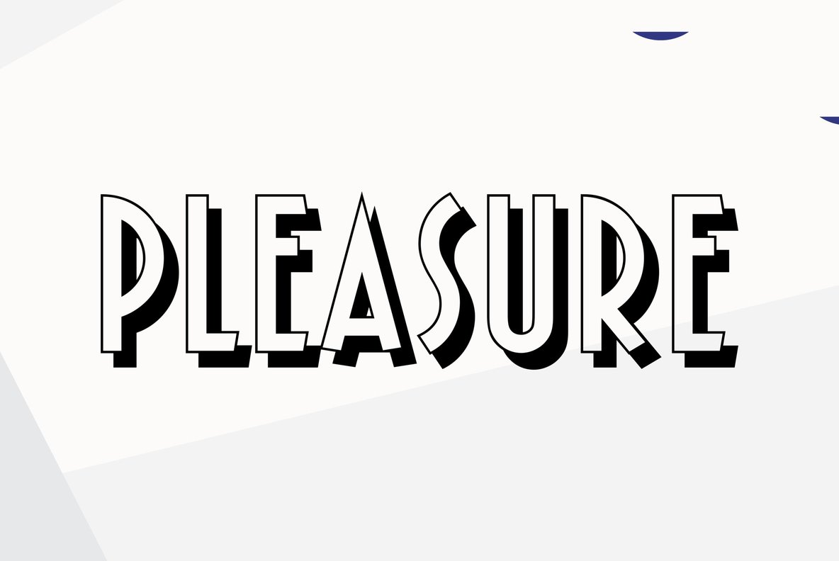 Pleasure Bold Shaded