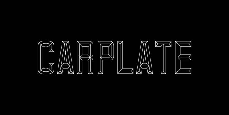 Carplate