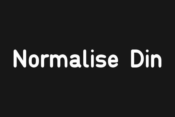 Normalise Din