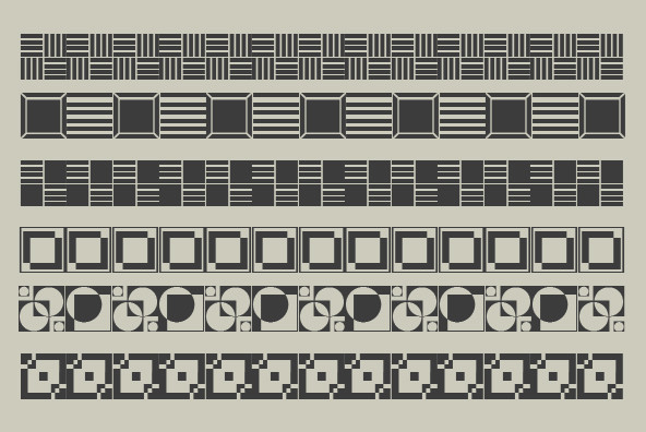 Polytype Art Deco One